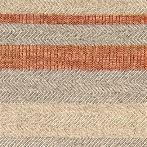 tapis moderne 233 orange beige et gris en coton et viscose