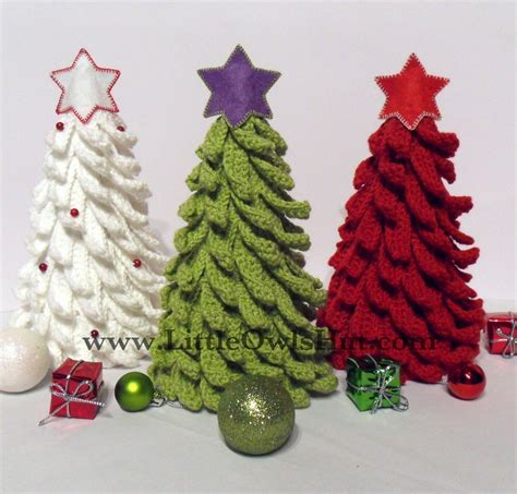 you have to see christmas tree crochet by littleowlshut
