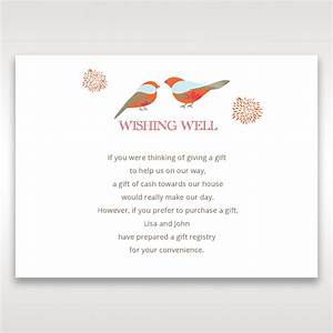 wedding gift registry wording imbusy for With wedding registry for honeymoon