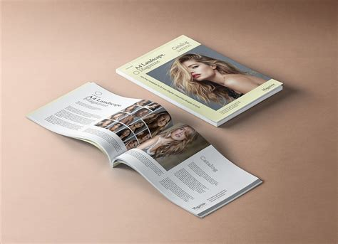 Vectogravic designs presents a free magazine psd mockup for businesses and companies that want to build their own little magazines. Free Premium A4 Landscape Magazine Mockup PSD - Good Mockups