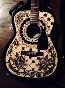 Sharpie guitar art http://www.guitarandmusicinstitute.com ...