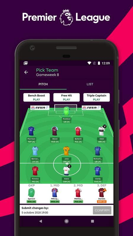premier league official app for android apk download