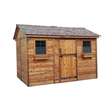 Home Depot Backyard Sheds by Outdoor Living Today Cabana 8 Ft X 12 Ft Western