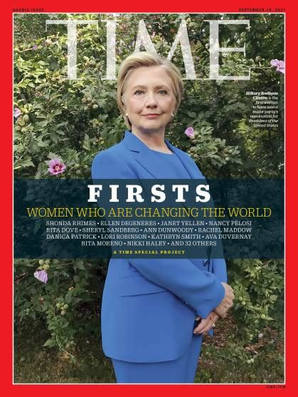 Hillary Clinton Cover by Time Covers Of Hillary Clinton Selena Gomez Shot On