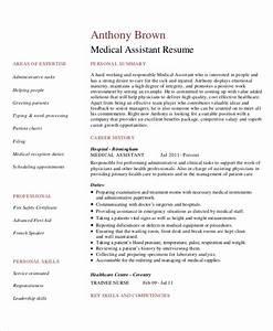 Nursing Assistant Resume Example Generic Resume Template 28 Free Word Pdf Documents