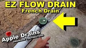 Easy Flow Drainage : ez flow drain pipe diy french drain youtube ~ Frokenaadalensverden.com Haus und Dekorationen