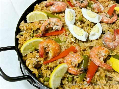 cuisine influences paella valenciana a jan is cooking