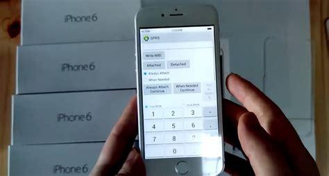 imei iphone 6 iphone 6 imei değiştirme kodu mobil teknoloji haberleri