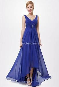 robe de ceremonie au decollete v avec coupe asymetrique With floryday robes de soirée