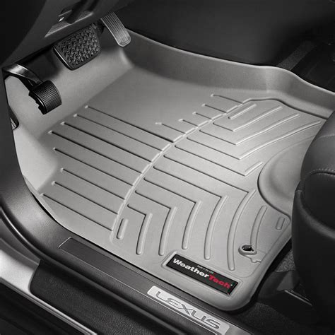 weathertech floor mats weathertech 174 464261 digitalfit 1st row gray molded