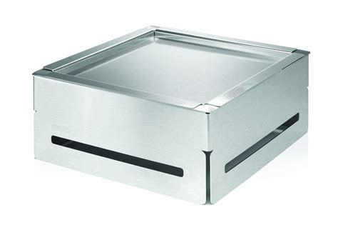 Rosseto Sm163 Square Stainless Steel Cooler Buffet Set
