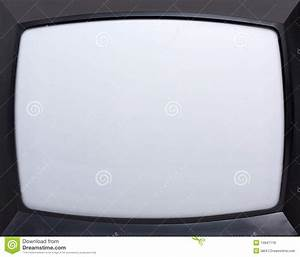 Retro Television Screen Stock Photo  Image Of Obsolete