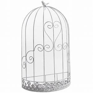 Cage Oiseau Deco : cage murale d co oiseau en m tal 37x20x62cm achat vente voli re cage oiseau cage murale ~ Teatrodelosmanantiales.com Idées de Décoration