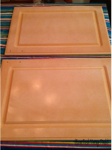 thermofoil cabinet doors peeling painting thermofoil kitchen cabinets part 1 farm fresh