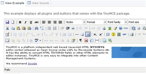 20 Excellent Free Richtext Editors  Webdesigner Depot