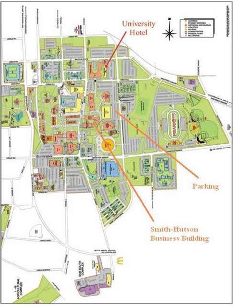 shsu campus map earth map