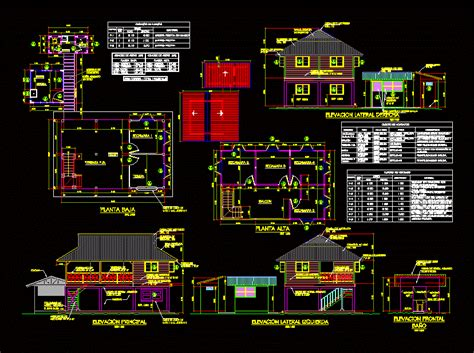 full wooden house dwg block  autocad designs cad