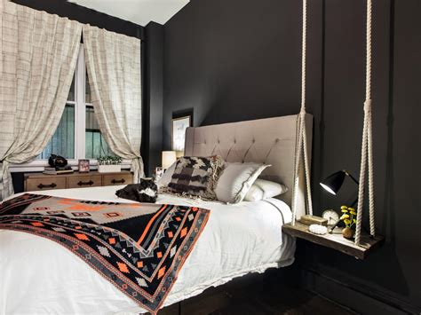 black painted bedroom unexpected bedroom paint colors worth the design risk 10867 | 1434993822136