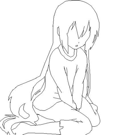pixilart girl base  silentsilver