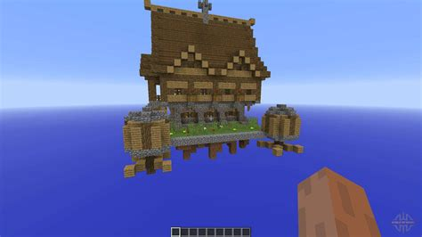 Steampunk house for Minecraft