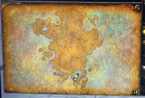 shadowlands wow map bastion comments