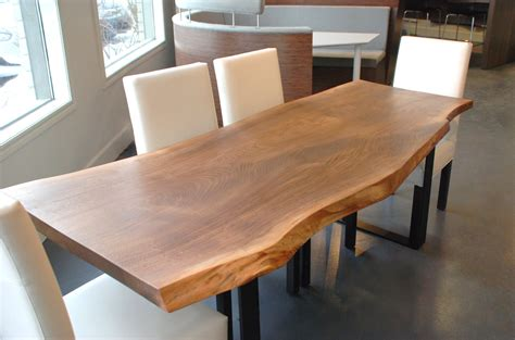 live edge black walnut dining table by boisdesign on etsy