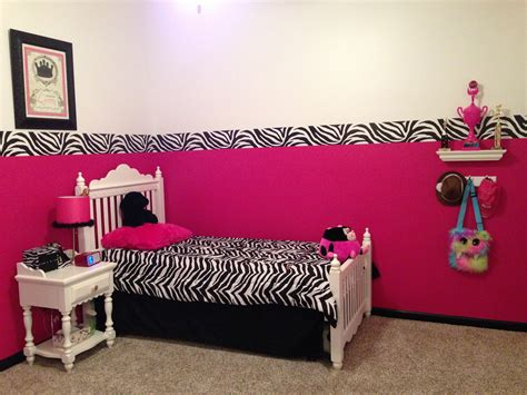 Pink Zebra Bedroom by Pink Zebra Room Decor Bedroom Decor Pink Zebra