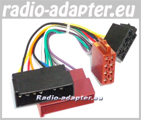 ford maverick   car radio wiring harness iso
