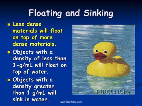 materials sink in water density formula wheel sliderbase