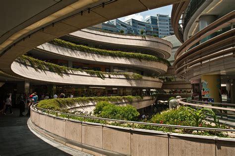 Roof Gardens at Namba Parks, Osaka, Japan : architecture