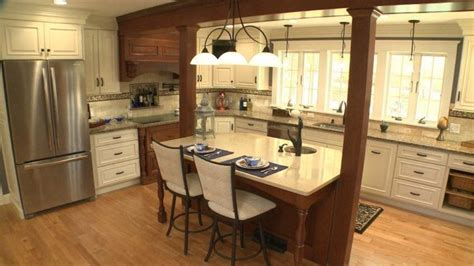 Island Columns by 15 Beautiful Kitchen Island Designs With Columns Housely
