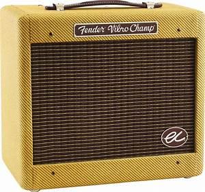 Fender Eric Clapton Ec Vibro Champ Guitar Combo Amplifier