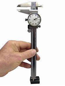 Dial Caliper Used As A Precision Depth Gauge