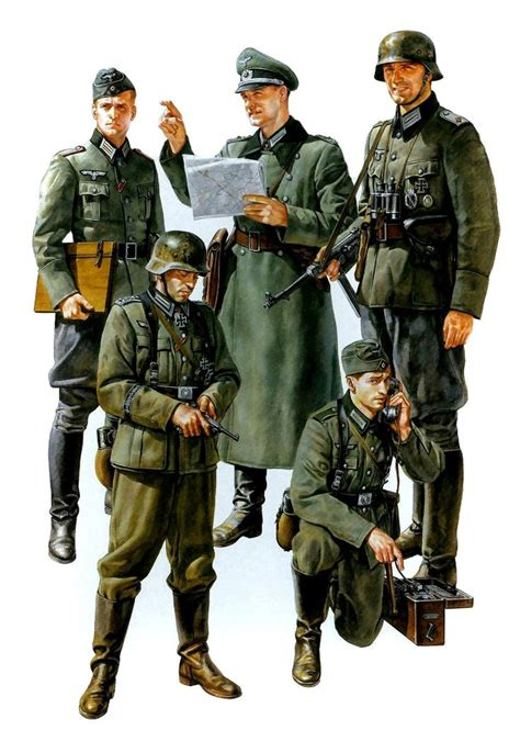 wehrmacht field commander axis uniforms regalia 1939 45 fields german and