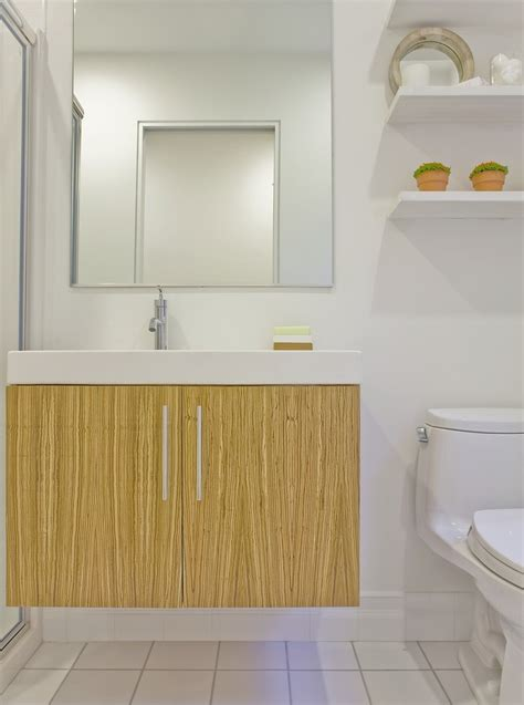Modern Small Bathrooms 2014 by Floating Vanities For Small Bathrooms Bathroom