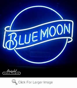 Blue Moon Neon Beer Sign only $299 99 Signs B