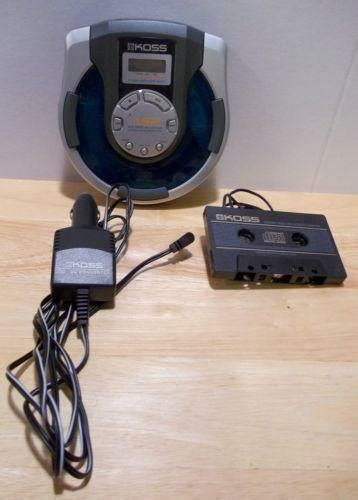 porta cd auto portable cd player with car adapter ebay
