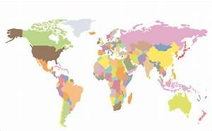 World map in vector free vector download (3,546 Free ...