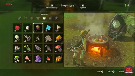 zelda breath   wild cooking recipes   cook