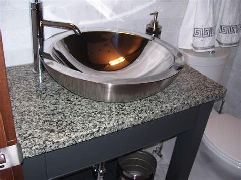 stainless steel vessel bowl modern bathroom sinks
