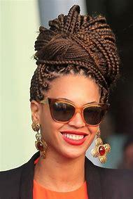 Beyonce Box Braids Hairstyles