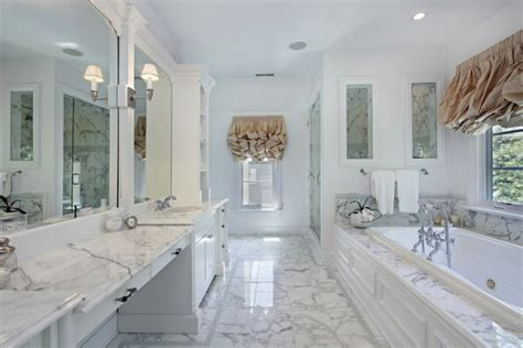 carrara marble bathroom designs 6 awesome master bathrooms plano homes land