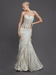 kleinfeldbridalcom perla d by pnina tornai bridal gown With pnina tornai wedding dresses