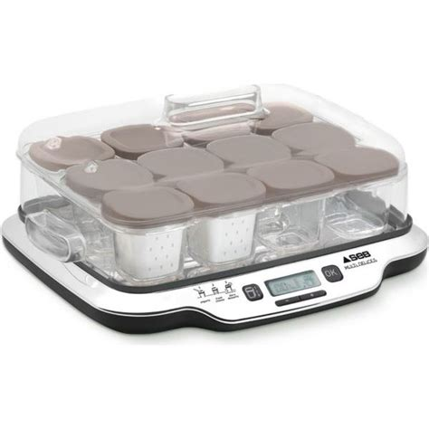 yaourtiere multi delice seb 12 pots yaourti 232 re seb yg6528 22 multi delices achat vente yaourti 232 re fromag 232 re soldes cdiscount