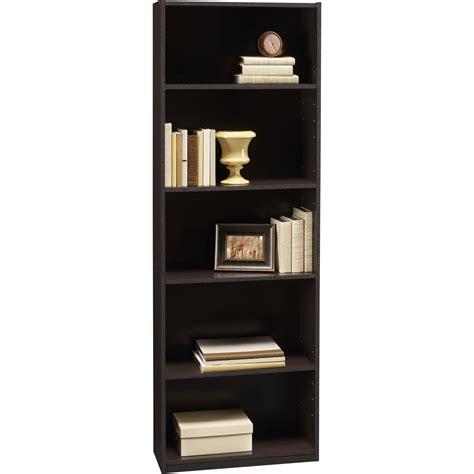 espresso bookcase with doors bookshelf amazing espresso bookshelf bookcases wood dark