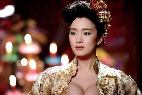 Gong Li In Curse Of The Golden Flower Martial Arts