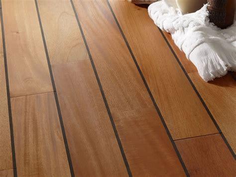 parquet massif salle de bain en acajou avec joint int 233 gr 233 tropical woods