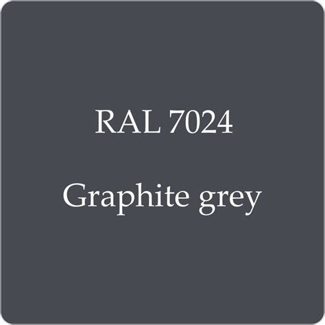 black garage doors ral 7024 high quality german paint graphite grey 2l with