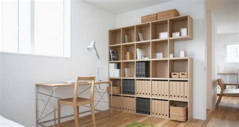 bureau japonais maison de style japonais et minimaliste la symbiose parfaite