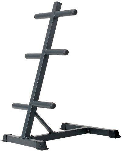 marcy olympic weight plate tree compact exercise equipment storage rack    weight plates